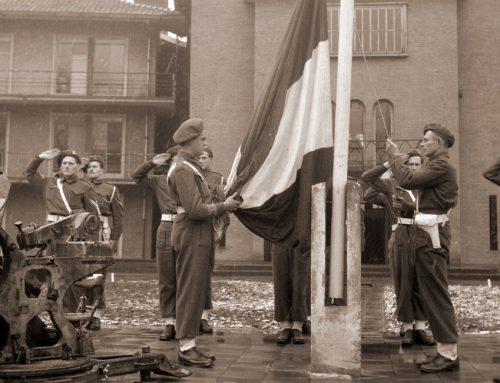 De vlag wordt gestreken